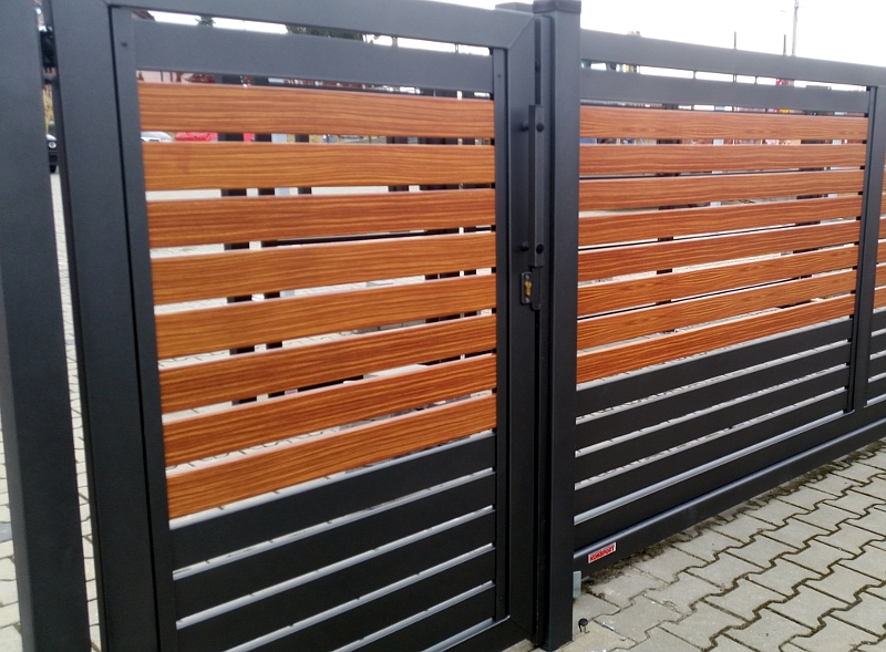ogrodzenia stylizowane